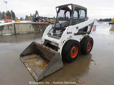 Bobcat Wheeled Skid Steer Loader