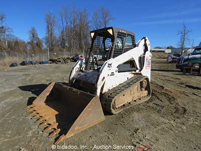 Tracked Skid Steer or Multi-Terrain Loader